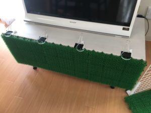 TV-stand-artificial-turf